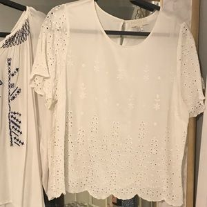 White Forever 21 Top